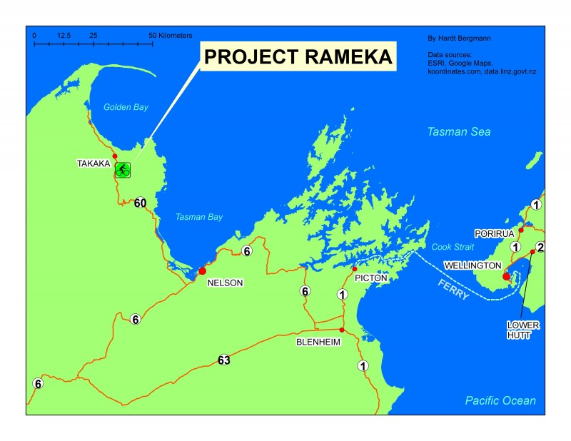 Rameka_on_map