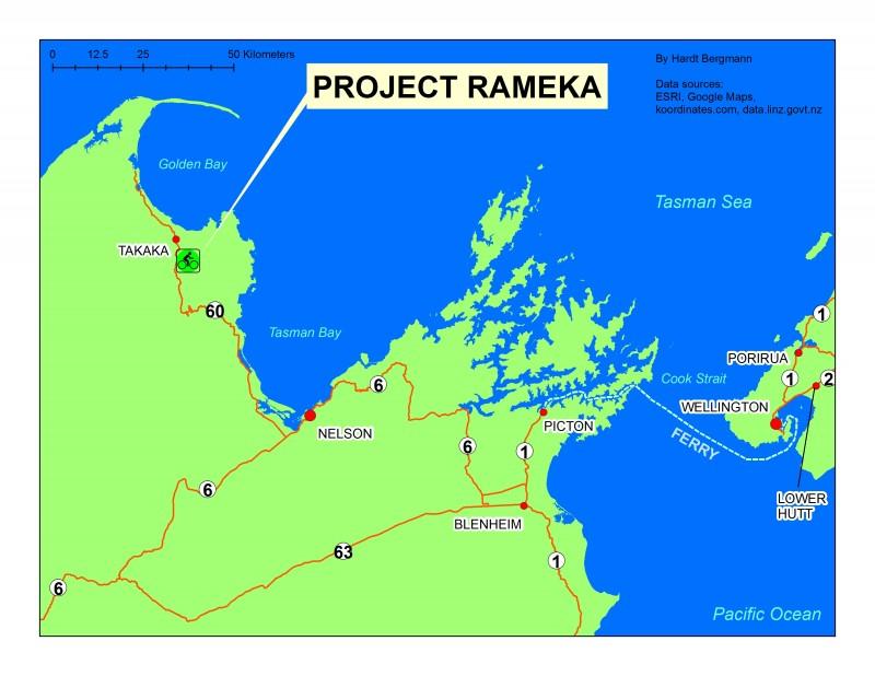 Rameka_on_map